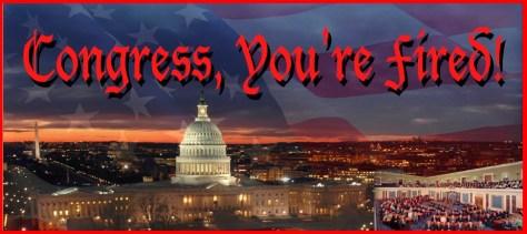 Congress fired
