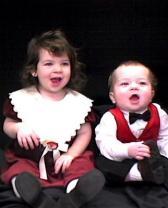 Katlynn and Edward very young