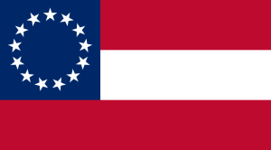 March 4, 1861 to  November 28, 1861 Flag of the Confederate States of America